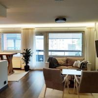 Tyylikäs kolmio 76 m², kahdella wc:llä
