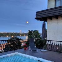Garden House Flat with pool and relaxing Danube view