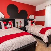 Дома для отпуска, *Mickey & Star Wars bedrooms decor* Windsor 6 bed with pool by Fidelity ID:244357