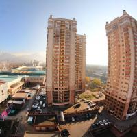 Apartments, 2 ком студия с панорамным ВИДОМ НА ГОРЫ в ЖК Мега Тауер