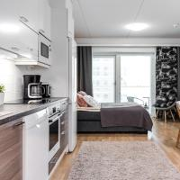 Brand new apartment next to Oulu railway station