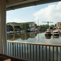 Houseboat in the City centre of Amsterdam