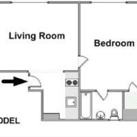 Stunning 1 Bedroom Rental in Midtown East NY-15742