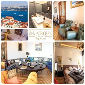 Maroon Residence,