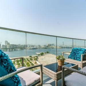 Stylish fully furnished 2BR apartment in Marsa Plaza Residence in Dubai