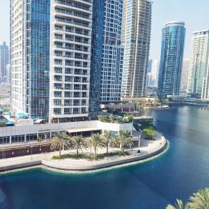 Fully lake view 1Bedroom in JLT Dubai in Dubai