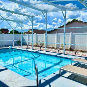 4BR w/ Private Pool Near Disney #Tropical Orlando# in Kissimmee