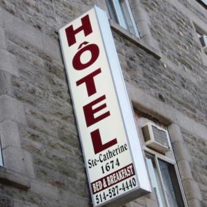 Hotel Ste-Catherine, Montréal