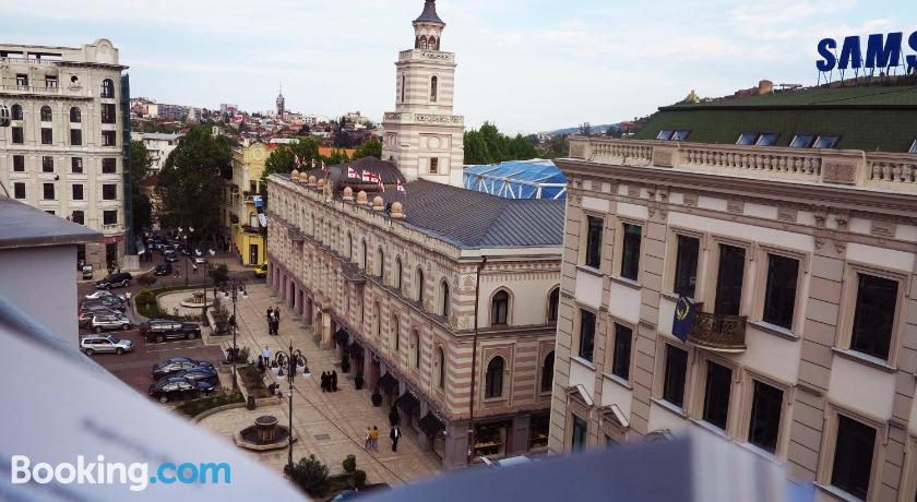 Freedom Square Apartment With View | Tbilisi, Georgia