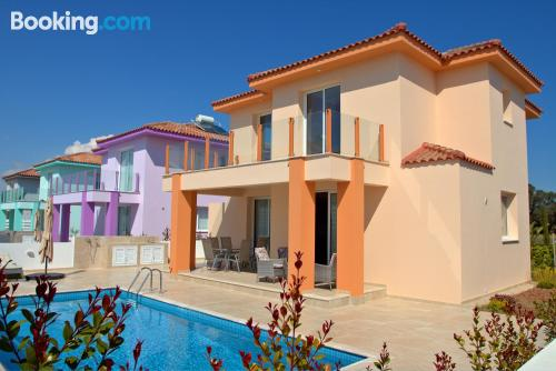 Villa Orange near beach with swimming pool
