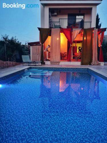 Privately located villa with pool