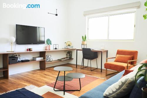 City-center apartment with heat and internet