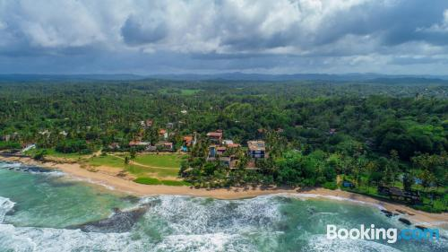 Place for two people in Weligama with air-con