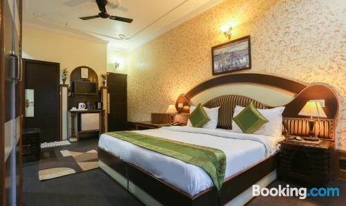 Apartment in Dharamshala with internet and terrace.
