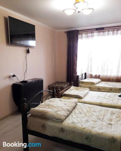 Apartamento apto para animales en Baranavichy. Ideal para grupos.