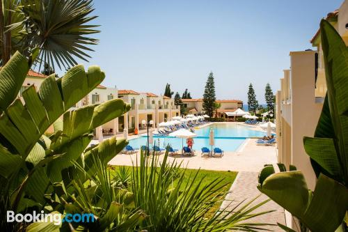 Experience in Ayia Napa with terrace.