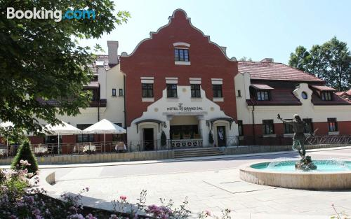 Wieliczka from a great location for 2 people