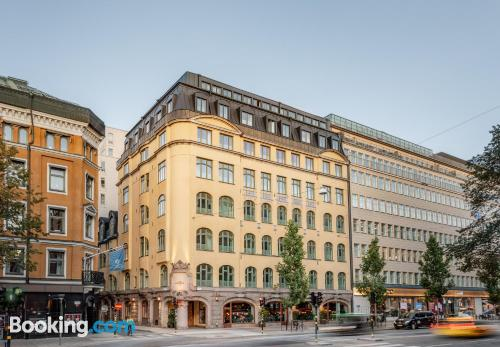 Apartment with wifi in Stockholm.