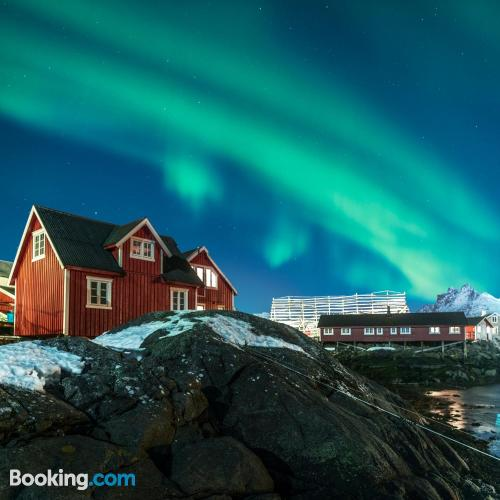Comfortable apartment in Svolvaer. Good choice for groups