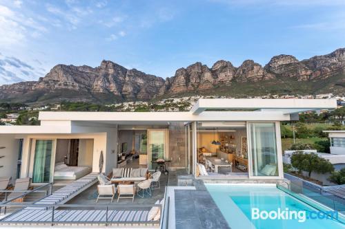 Massive home in Cape Town.