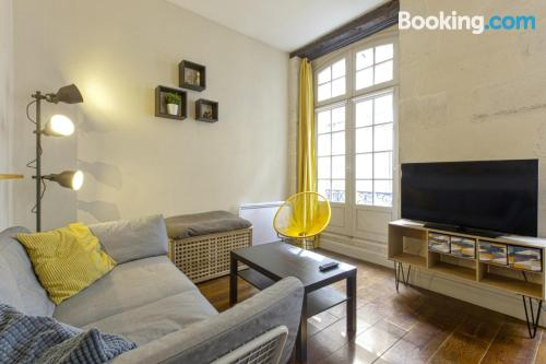 City-center apartment in Bayonne.