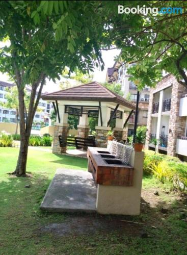 2 rooms place in Davao City with terrace and swimming pool.