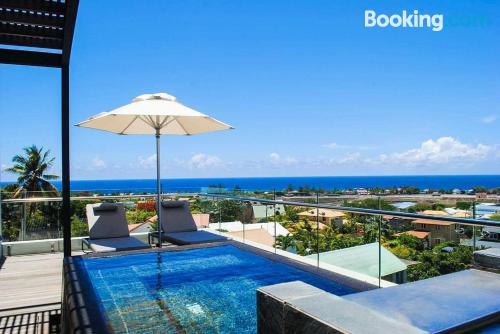 Apartamento de 325m2 en Tamarin con terraza y piscina