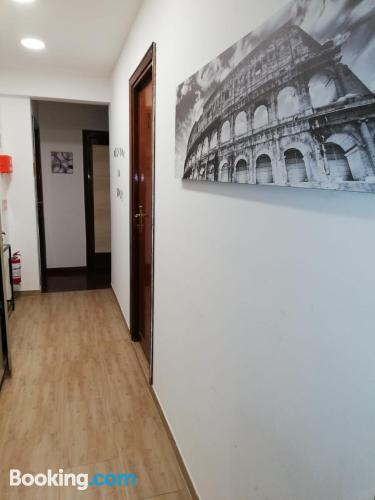 One bedroom apartment apartment in Rome with internet.