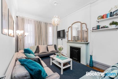 Apartamento con conexión a internet ideal para grupos.
