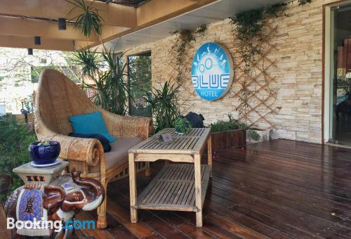 Stay cool: air home in Eilat. Good choice for groups