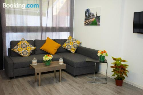 One bedroom apartment apartment in Limassol. Internet!.