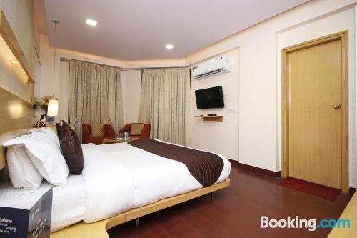Apartamento de 23m2 en Jaipur con aire acondicionado.