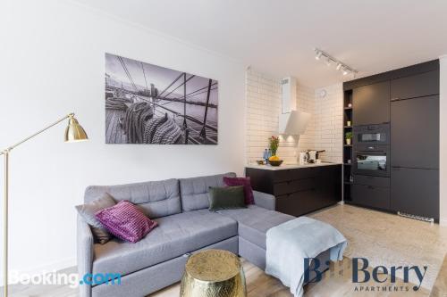 Apartamento con internet en Gdynia