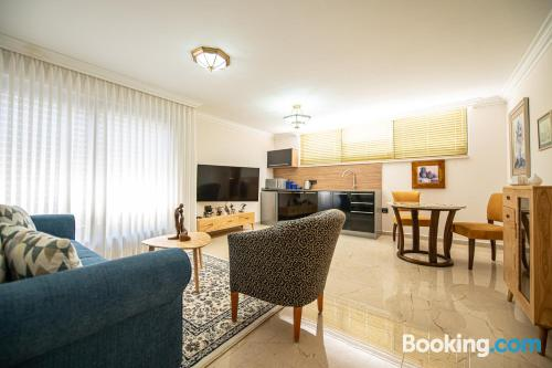 Stay in Ashkelon with terrace and wifi.