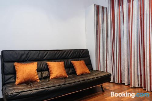 Apartamento práctico en Barcelona ideal para grupos