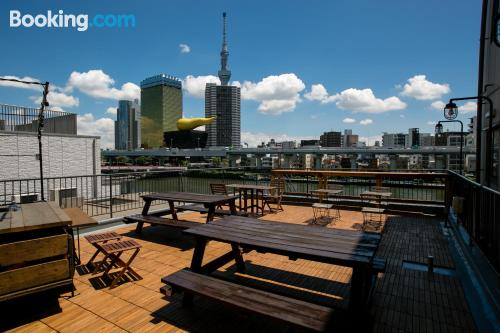 Ideal one bedroom apartment. Terrace!.