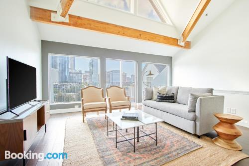 Apartment for two people in Atlanta. 93m2.