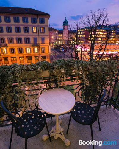 Place for 2 in Lugano with internet