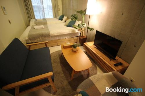 Apartment for groups in Osaka.
