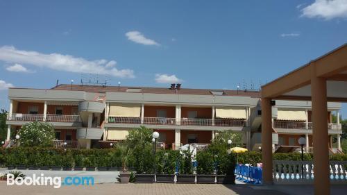 Apartamento con piscina en Metaponto