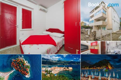 1 bedroom apartment in Budva. Tiny!