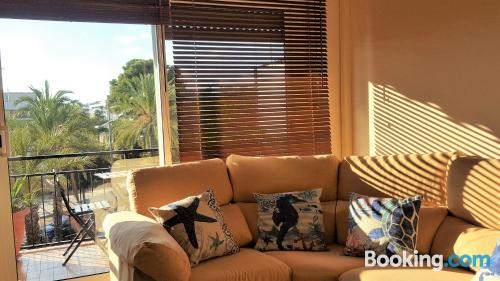 Large apartment in Sitges. Central location, internet