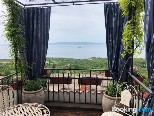 Perfecto, dos habitaciones ¡Con terraza!