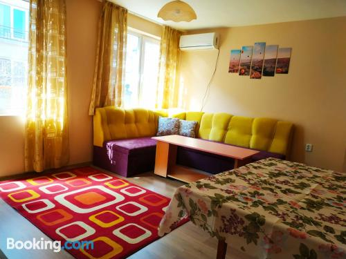 Place in Varna City with terrace and internet