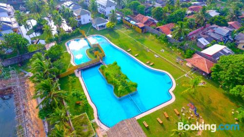Swimming pool and wifi apartment in Negombo. Dogs allowed