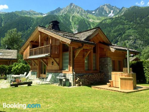Apartment with wifi in Chamonix.
