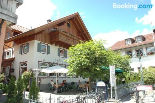 Cuco apartamento en Altusried con vistas y wifi