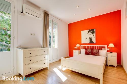 Apartment in Barcelona. Internet!
