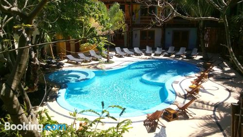 Dog friendly apartment in Holbox Island with terrace
