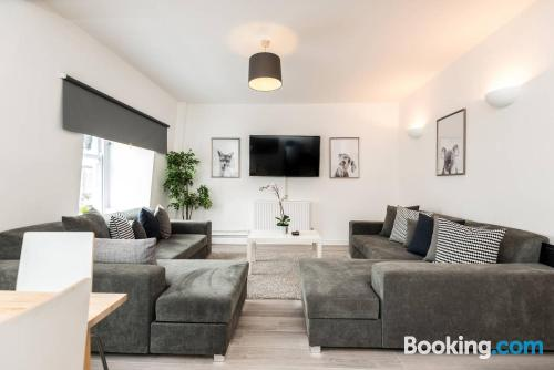 Family apartment in Liverpool.
